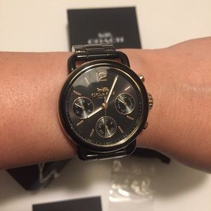 Coach Delancy chronograph watch